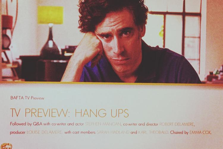 Stephen Mangan stars in Channel 4 comedy Hang Ups